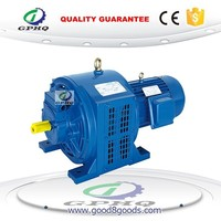 GPHQ YCT315B-4 60HP 45KW 60CV 380V three phase cast iron body adjustable speed electric motor