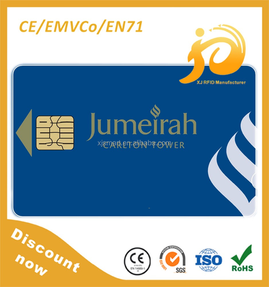 Custom Embossing NO. ID TK4100 Chip Card
