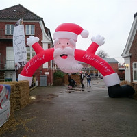 Christmas Inflatable Arch / Inflatable Arch For Christmas / Father Christmas Arch