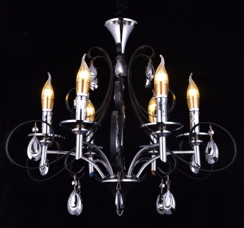 black wrought iron chandelier lighting home decorative hanging pendant lights vintage