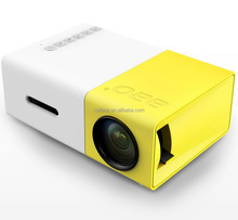 Most Popular Small LCD Low Price Cheap YG300 Mini Projector