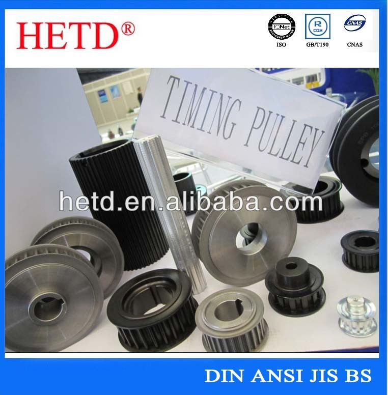 Timing pulleys (XL,L,H,XH,XXH)