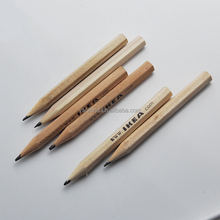 Promotional Cheap Mini Wood Golf Pencils in Bulk