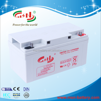 Deep cycling 12v 200ah rechargeable lead acid battery for solar system