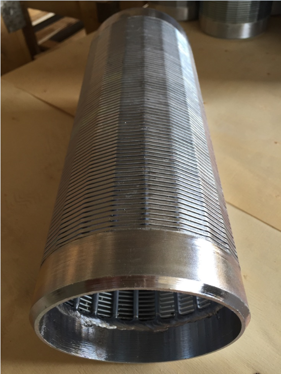Seamless Steel Pipe Flat Johnson Wedge Wire Screen From Direct Factory