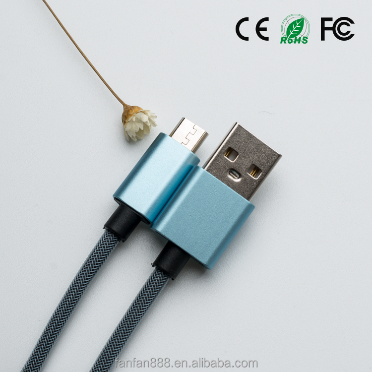 <strong>K</strong>-ball Fishnet Micro USB Cable for Mobile Phone Tablet PC