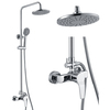 Online shop china brass faucet with hand shower