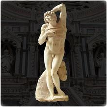 Directly Factory marble stone nude man statue