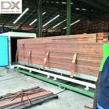 PLC Automatic Controlled Wood/Timber Vacuum Drying Machine