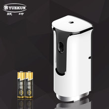 automatic aerosol spray dispenser room automatic time display free standing air freshener dispenser