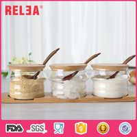 300ml Borosilicate Glass Seasoning Condiment Bottles