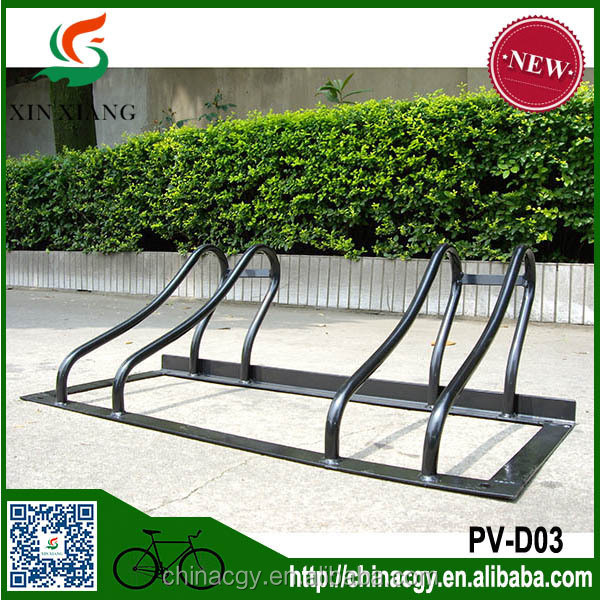 Black OEM slot bicycle parking rack bike shop usage parking racking
