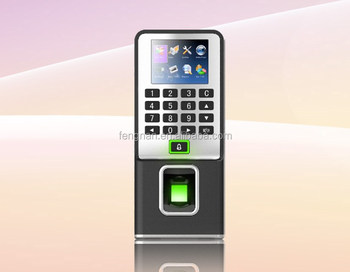 NEW CE ROHS for wifi GPRS professional fingerprint biometric time attendance and aceess control