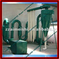 Wood sawdust dryer for charcoal plant
