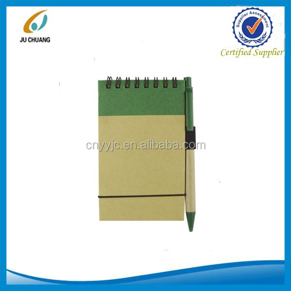 Paper line notebook eco recycled paper notebook