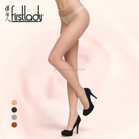 Firstlady 2016 new fashion 15D Ultrathin women seamless pantyhose sexy high elastic cotton crotch tights Nylon stockings