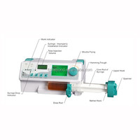 medical syringe pump for infusion therapy