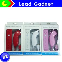 Multi colors For Nintendo Wii Remote Controller nunchuck Built in Motion Plus