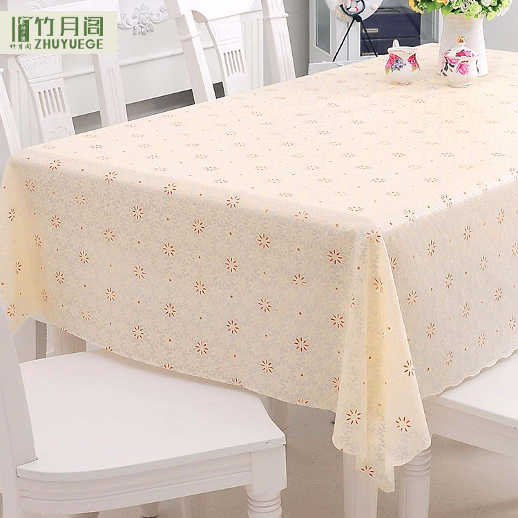 China Made Professional Soft Custom PVC Table Cloth