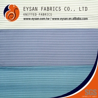 EYSAN Underwear Soft Stripe Tactel Nylon Spandex Knitted Fabric