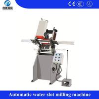 Jinan PVC window making machine single- axis water slot milling