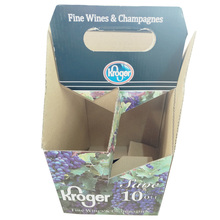 New designs creative hard paper packaging box for wine