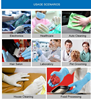 Disposable powdered medical grade Automobile Service Industry nitrile gloves in Alibaba wholesalers