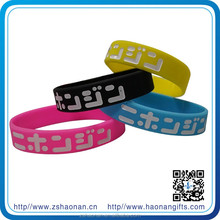 Arts and crafts silicone energy bracelet for man