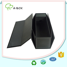 Factory direct supplier long square shape rigid cardboard paper gift box