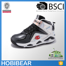 HOBIBEAR size 33-40 fashion durable child sport shoe boys brand basketball shoe boots