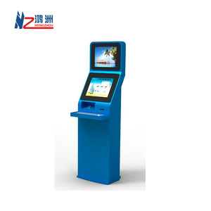 High quality Windows OS Ticket vending machine kiosk with touch screen