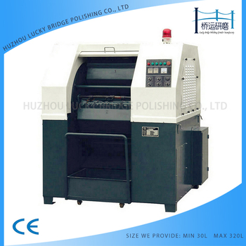 30L-320L Surface polishing machine of centrifugal barrel finishing polishing deburring machine