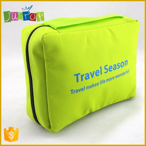 Justop hot sale hanging toiletry bag foldable