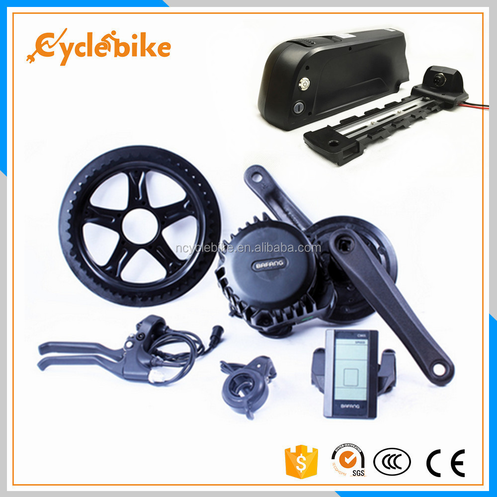 bbs02 48v bafang 8fun ebike central motor 750w electric bike conversion kit