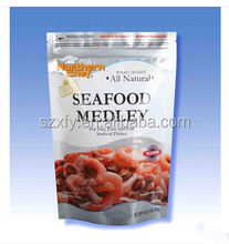 Supplier stand up laminated plastic ziplock beef jerky packaging bags