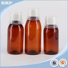 60ml brown pet plastic bottle with small tamperproof cap for medicine 60ml medicine bottle holder 60ml plastic medicine jars