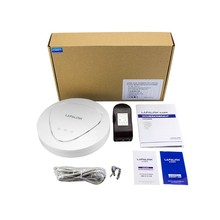 XD9800 Tenda W301A Wireless N300 Ceiling-mount PoE Access Point, 300mbps Gigabit Ethernet port, 11n, WDS,Wireless Wifi Router