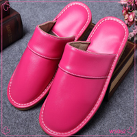 Winter Leather Couple Home Cotton Warm Slippers Newest Soft-soled Slippers