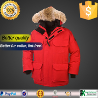 Qtisy is the best supplier famous brand winter clothes shop military parka