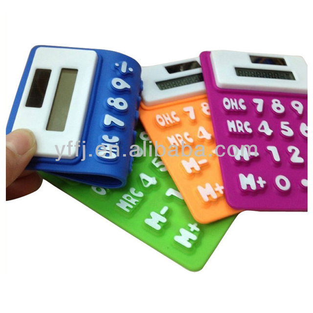 silicone calculator solar energy calculator with 8 digit number