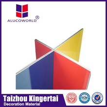 Alucoworld aluminum composite board construction material in china a2 grade acp india