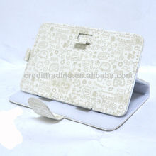 for ipad case with 360 rotating leather, for ipad mini case