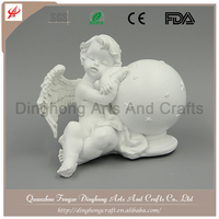 Wholesale Garden Angel,Garden Decoration,Resin Angel Figures Little Sonny Angel Statue