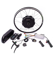 Greenpedel strong power Aluminum gearless electric bicycle motor kit conversion 48V 90V 1500w 3000w