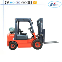 trailer truck truck mounted craneGood performance gasoline LPG 2ton 3ton dual fuel forklift truck