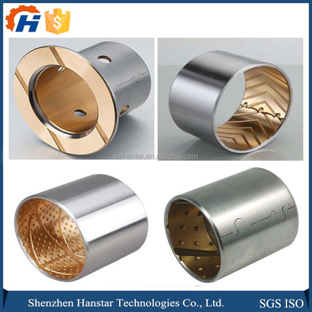 CNC Copper products factory made super quality metal motor tube bushing