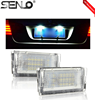 Factory outlet 2018 18SMD License plate lights for BM W tail light car auto light