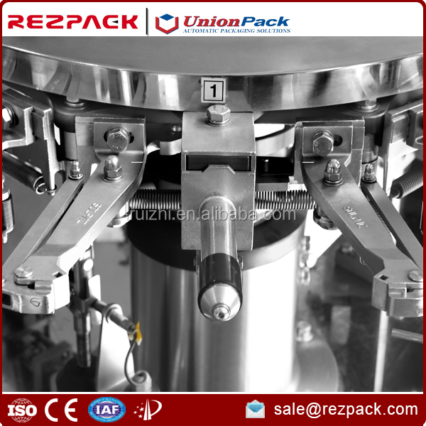 High quality Double-bag stand up pouch automatic filling sealing packing machine