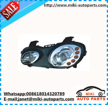 Head lamp for chinese car chery S21 QQ6 auto spare parts