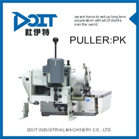 PULLER DEVICE FOR OVERLOCK SEWING MACHINE WITH UPPER AND LOWER ROLLER PL PULLER